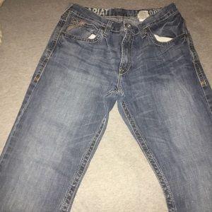 Men's Ariat Low Rise Boot Cut Jeans